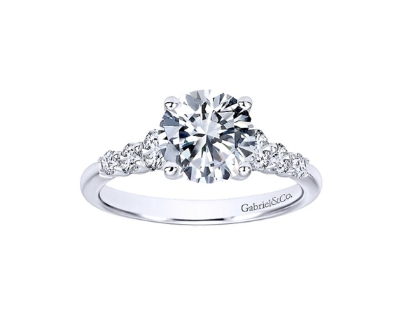 Engagement Semi-mount Rings by Gabriel & Co